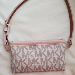 MK Logo Michael Kors Fanny Pack Bag Belt